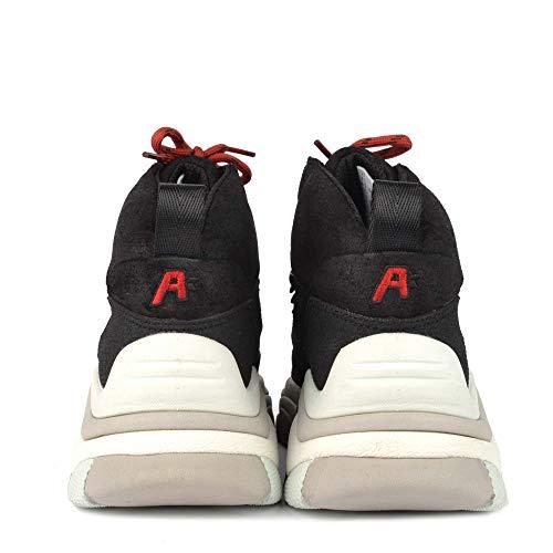Da Trekking Camoscio Nero In Alfa Ash Scarpe Footwear qw688t