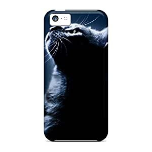 EKZujge4678dtDAm Snap On Case Cover Skin For Iphone 5c(cat Face) by supermalls