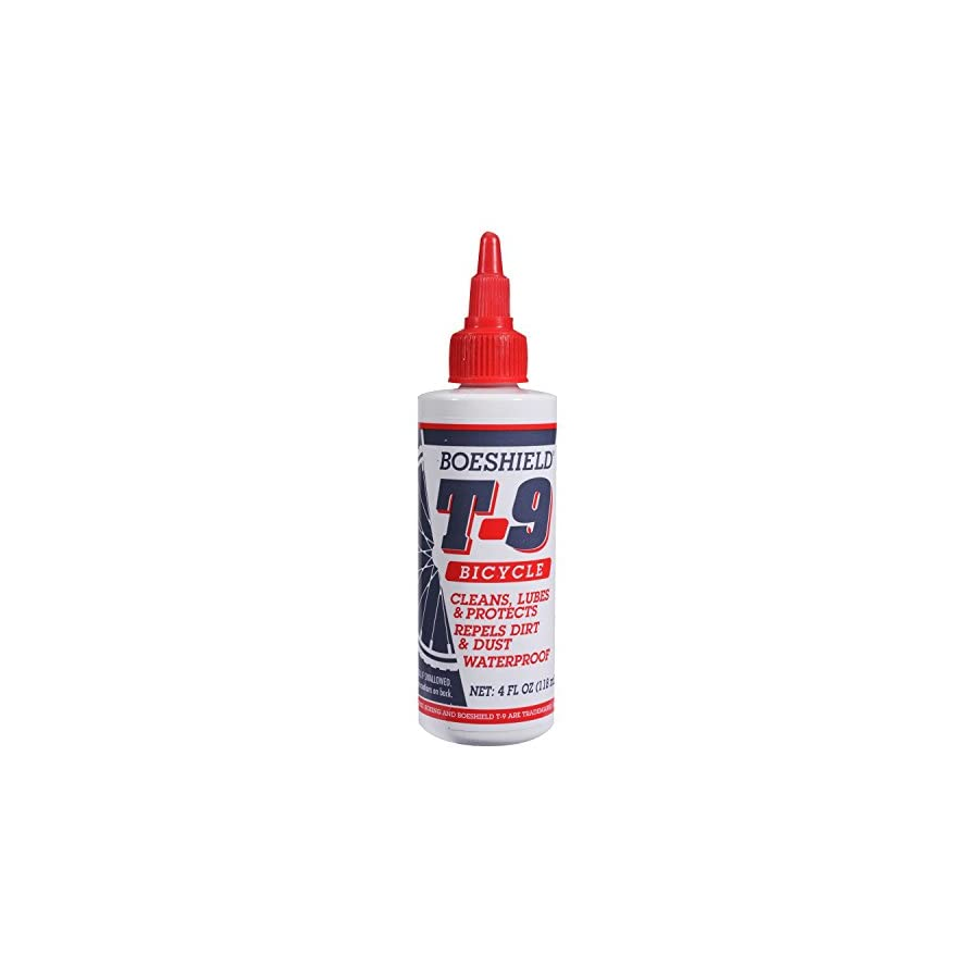 Boeshield T 9 Bicycle Chain Waterproof Lubricant and Rust Protection, 4 oz Liquid