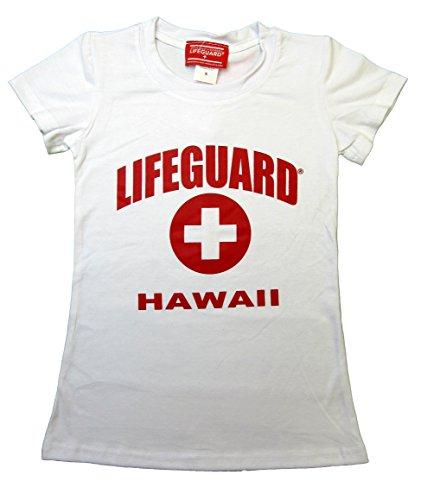 59b49286501 Maui Clothing Lifeguard Hawaii Girls s Tee (Small