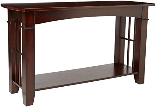 Coaster Abernathy Casual Cherry Sofa Table with - Cherry End Country Table