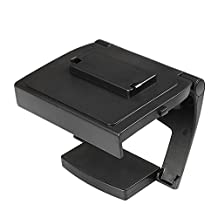 TNP Xbox One TV Mounting Clip - Black Plastic Adjustable Sensor Camera TV Clip Monitor Mount Dock Holder Stand Bracket for Microsoft Xbox One Kinect 2.0 [Xbox One] by TNP Products