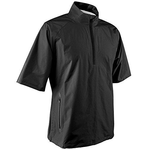 (Sun Mountain 2016 Men's Cumulus Short-Sleeve Pullover (Black, XX-Large))