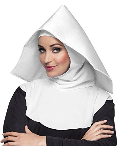 Boland 04235Nun Mother Oberin Cap–Costume–One Size -