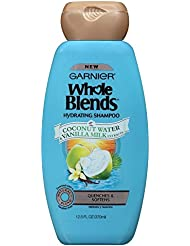 Garnier Whole Blends Shampoo with Coconut Water & Vanilla Milk Extracts, 12.5 fl. oz.