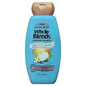 Garnier Whole Blends Shampoo with Coconut Water & Vanilla Milk Extracts, 12.5 fl. oz.