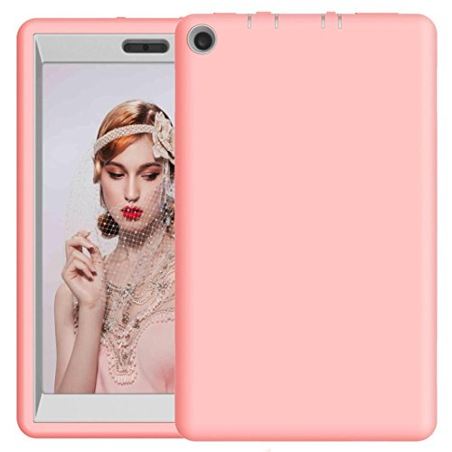 For 8Inch Amazon Kindle Fire HD 8 Tablet Case 2017, Iusun Shockproof Hybrid Case Protective Shell Cover (G) (Fire Amazon Tv Ipazzport Remote)