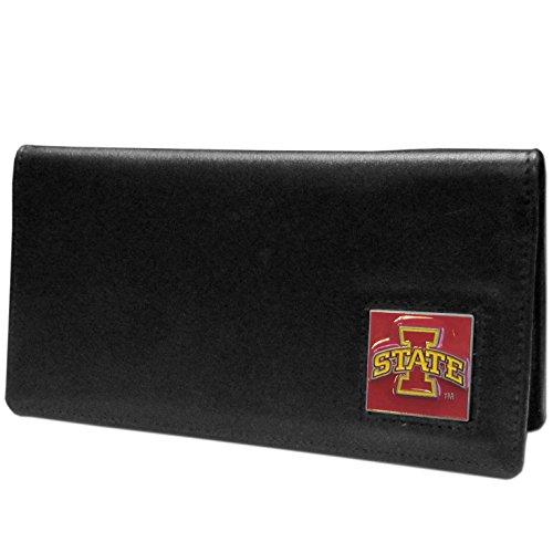 Siskiyou NCAA Iowa State Cyclones Leather Checkbook Cover (Iowa State Pocket)