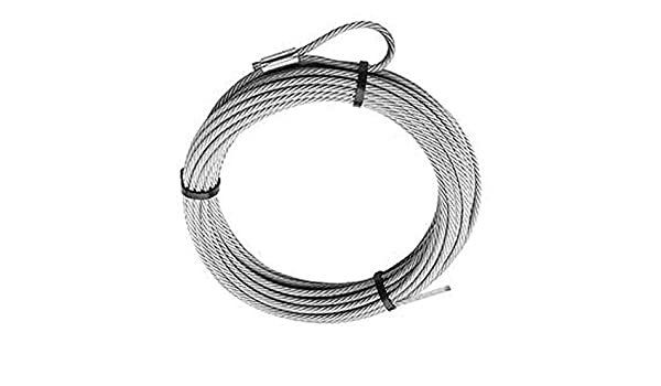 diameter 69336 Warn Replacement Wire Rope 50ft 5//32in