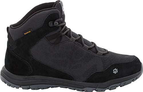 da M Jack Grigio scarpe Mid 6350 Texapore da Wolfskin Activate alte uomo Xt phantom trekking 0qTX0