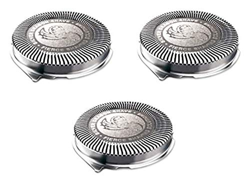Silver Dragon Shave HQ8 Replacement Heads Compatible w/Series 8 Electric Shavers (3)