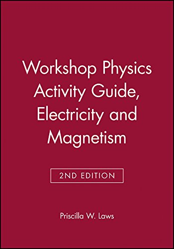 Data 4 Module (Workshop Physics Activity Guide, Module 4: Electricity and Magnetism)