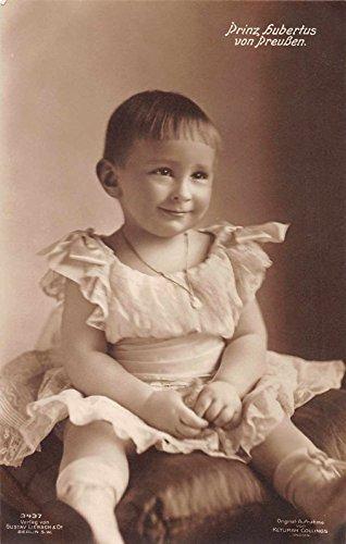 Germany Royalty Prince Hubertus von Preussen Real Photo Antique PC J36405