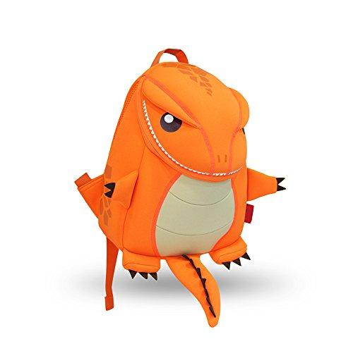 YISIBO Waterproof Kids Backpack 3D Dinosaur Cartoon School Hiking Sidesick Bags