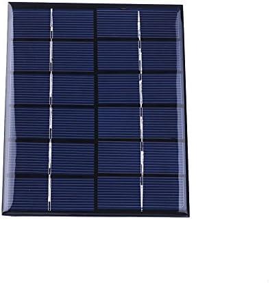 Cewaal Haihuic 6V 2W 330mA Epoxy Sonnenkraft Polykristallines Silizium Solarmodul DIY Modul für Zelle Ladegerät Spielzeug