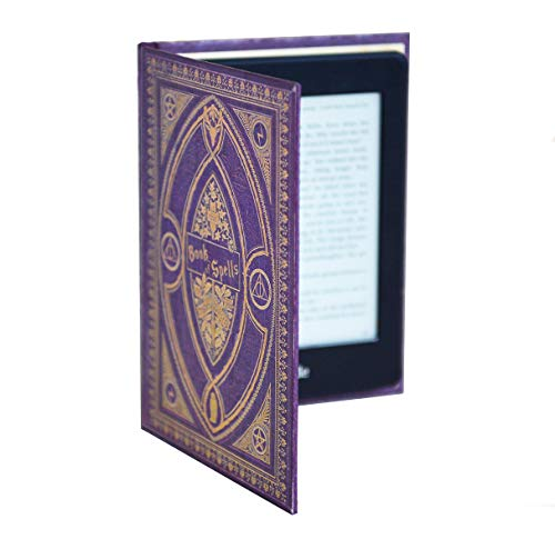 (Harry Potter Themed Book of Spells Kindle Paperwhite Cover (Purple Spells))