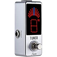 Rowin High Precision Guitar Chromatic Tuner Pedal Ture...