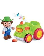 Hap-P-Kid Musical Animal Vehicle, Roadster