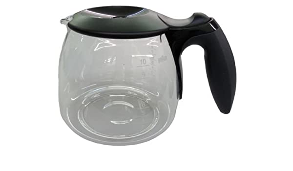 Yan auténtica Braun 63104704 Jarra cafetera eléctrica Pot – Negro ...