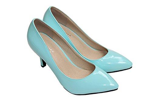 CFP - Sandalias con cuña mujer azul claro