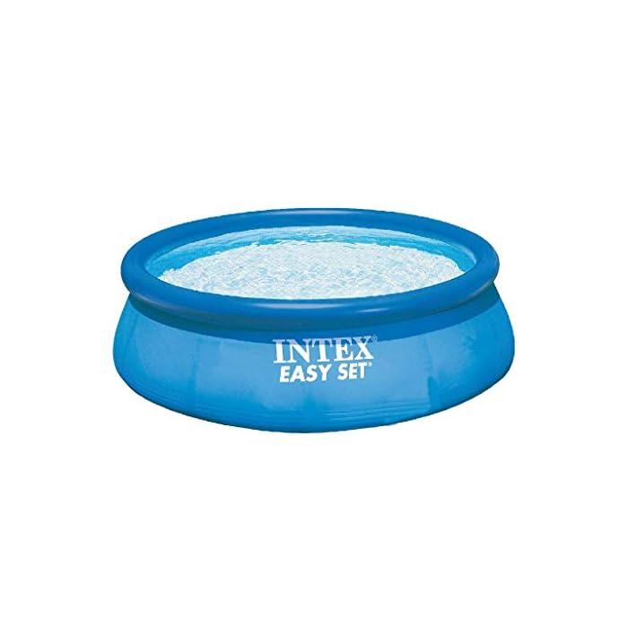 41wbphfptdL Piscina circular de 305 cm de diámetro (altura 76 cm) Incluye depuradora de cartucho de 1.250 l/h, que utiliza filtros de cartucho tipo H (incluido) Capacidad: 3.853 litros