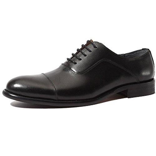 Scarpe Da Uomo Classiche Da Uomo Scarpe Da Sole Con Cerniera In Pelle Fatte A Mano Oxford Fashion Lace-up Pointed Leather Shoes Black