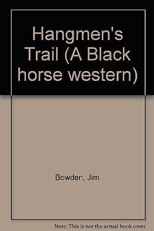book cover of Hangmen\'s Trail
