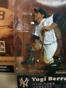 McFarlane Toys MLB Cooperstown Series 1 Action Figure Yogi Berra (New York Yankees) Shiny Hat ()