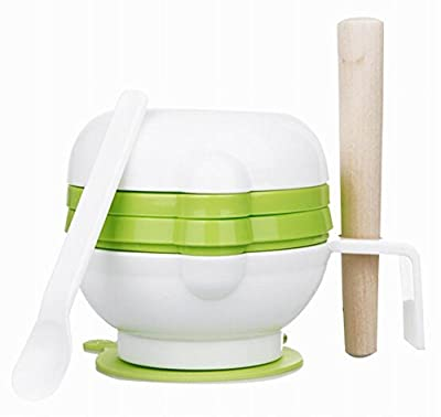 Practical Baby Food Grinding Bowl Grinder Food Mill for Making Baby Food, Green by Black Temptation that we recomend individually.