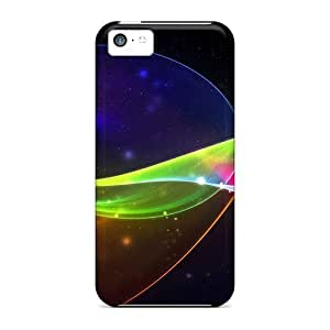 linJUN FENGHot Design Premium WsD7506vVcy Tpu Cases Covers ipod touch 5 Protection Cases(3d Colors Of Abstract)