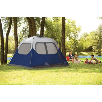 Blue Coleman 10u0027 X 9u0027 6-person Instant Tent c&ing trip outdoor woods  sc 1 st  Amazon.com & Amazon.com : Blue Coleman 10u0027 X 9u0027 6-person Instant Tent camping ...