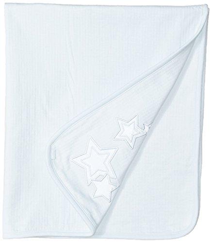 Kushies Baby Boys Classics Blanket Star, Light Blue, One Size