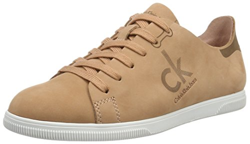Calvin Klein Jeans Women's Sailor Nubuck Fashion Sneaker, Dusk, 7 M US