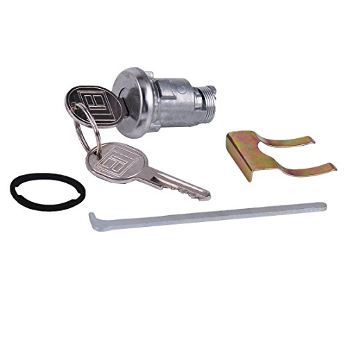 Daphot-Store - Trunk Boot Key Lock Cylinder Set 605533 TL1575 for Chevrolet Impala Corvette Pontiac Catalina 605533 TL1575 701129 700182 ()