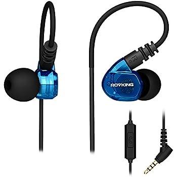 Amazon.com: ROVKING Running Headphones Over Ear In Ear Noise ...