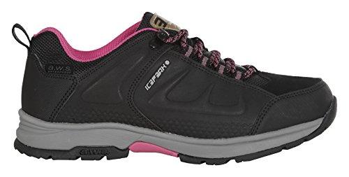 Icepeak Damen Wyatt Sneakers Schwarz (990 Black)