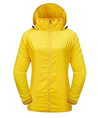 LakeRom Unisex Lightweight UV Protect Hooded Quick Dry Windproof Skin Coat Women Jacket