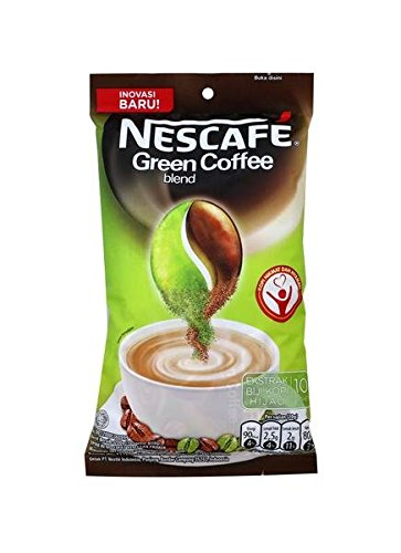Indonesian Nescafe Green Coffee Blend 10-ct, 200 Gram (Pack of 1) by Nescafé
