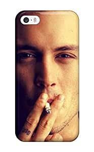 ZippyDoritEduard MjTHMzo1817fBUFN Case Cover Skin For Iphone 5/5s (johnny Depp Smoking)