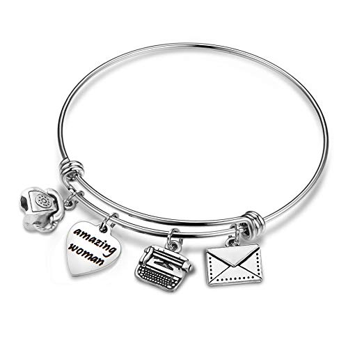 CHOROY Secretary Bracelet Gift Administrative Assistant Bracelet Personal Assistant Gift Coworker Gift Employee Appreciation Gift (Amazing Woman)