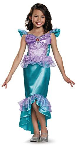 Ariel Classic Disney Princess The Little Mermaid Costume, X-Small/3T-4T