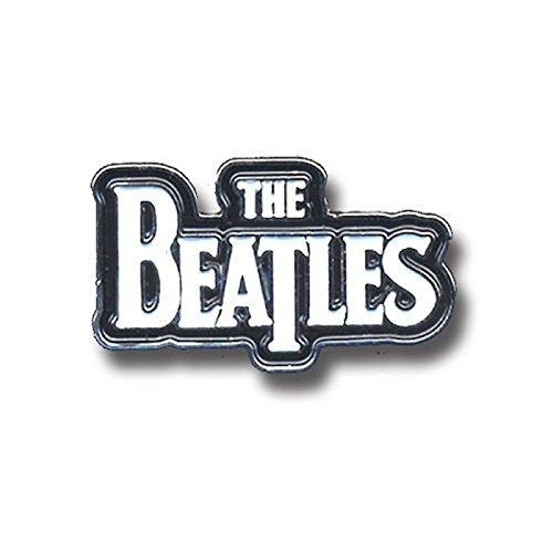 The Beatles White Drop T Logo Official Metal Pin Badge