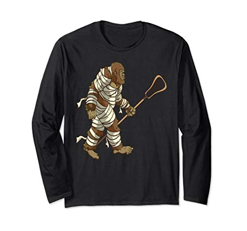 Lacrosse Player Sasquatch Halloween | Funny Bigfoot