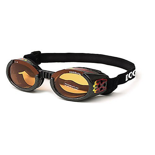 Doggles ILS Large Racing Flames Frame and orange Lens by Doggles