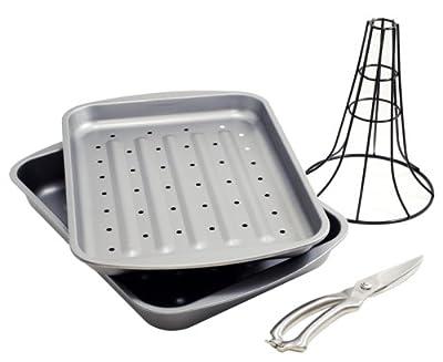 OvenStuff Nonstick 4 Piece Healthy Roasting Set
