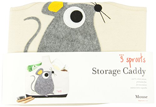 3 Sprouts Storage Caddy, Beaver