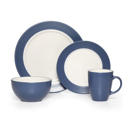picture of Pfaltzgraff Everyday Harmony Cobalt 16 Piece Dinne