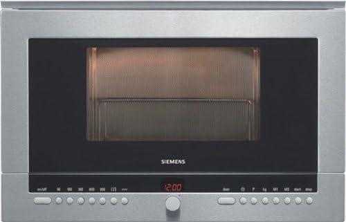 Siemens HF25G560, 1990 W, 230 V, 50 Hz, 10 A, Acero inoxidable ...