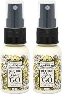 Poo-Pourri Before-You-Go Toilet Spray Bottle 1.4 oz Royal Flush Scent - 2 Count