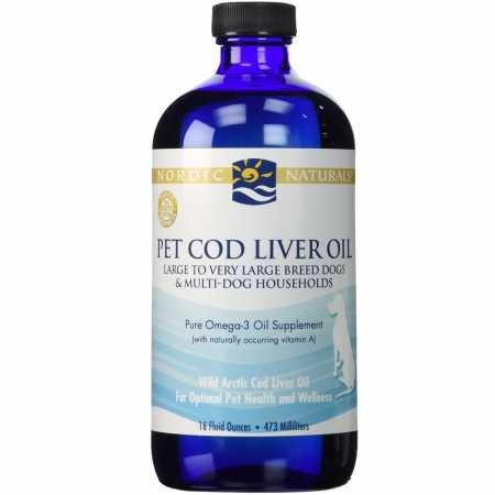 Nordic Naturals Pet Cod Liver Oil - 16 oz